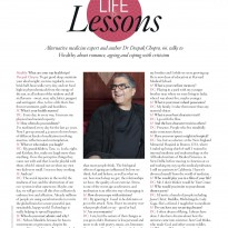 Life Lessons Q&D with Deepak Chopra