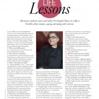 Life Lessons Q&D with Deepak Chopra