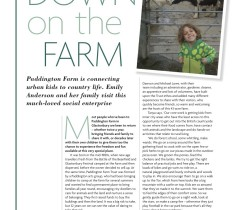 Paddington Farm Feature