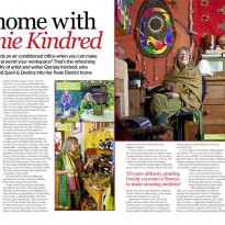 At Home With Glennie Kindred